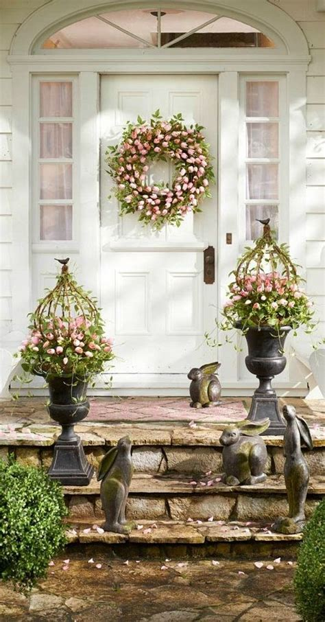 easter decorating ideas   outdoor space spring