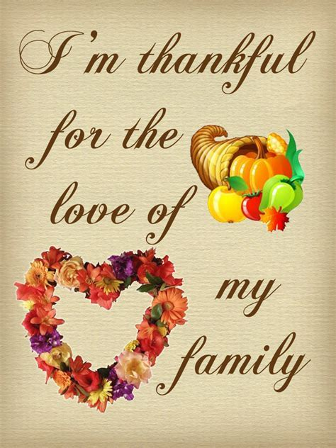 Thanksgiving Note: Thankful for the Love of My Family