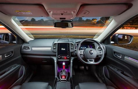 renault interior 2018 renault koleos initiale special edition now on sale