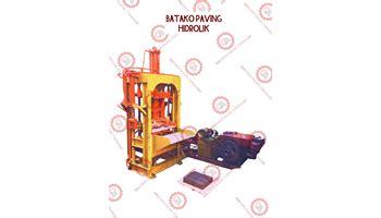 Jual Mesin Cetak Batako Hidrolis jual beli mesin paving block di indonesia agen