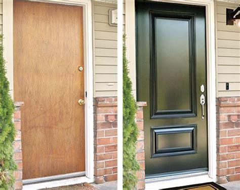 Plain Exterior Door The 25 Best Front Door Makeover Ideas On Pinterest Front Door Porch Front Door Paint Colors