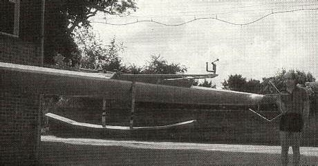 hydrofoil rowing boat wind and water and earth sculling hydrofoil 1975 and 2009