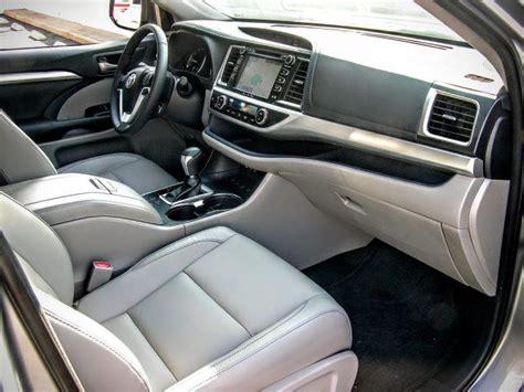 toyota highlander 2017 interior 2017 toyota highlander interior 2017 2018 best cars