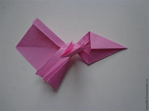diy origami paper gift bow