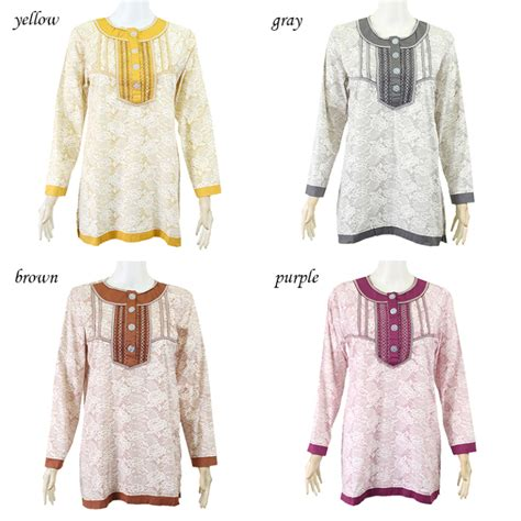 Muslimah Tunic baju muslimah tunic blouse rm38 dreamgirlboutique