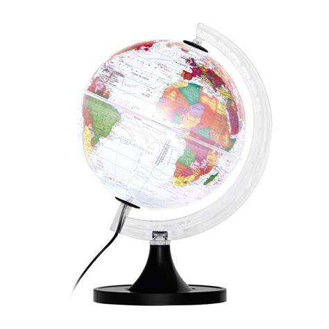 libreria globo globo terrestre aquarela iluminado libreria editrora 6586