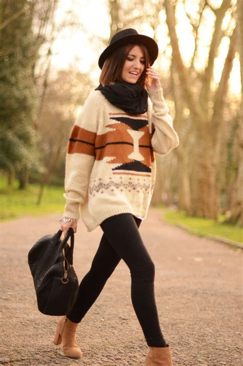 Ways To Wear An Oversized by 20 Ways To Wear Sized Sweaters Fashionably Stylewe