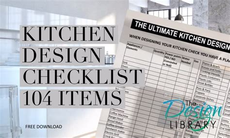 kitchen design checklist kitchen designs 101 ultimate kitchen design