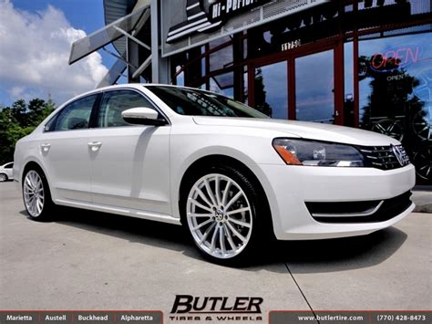 volkswagen passat black rims vw passat with 20in tsw mallory wheels exclusively from