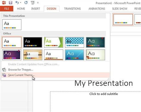 How To Change Slide Size In Powerpoint 2013 To 4 3 Aspect Theme Ppt 2013