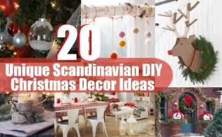 Diy Christmas Decorating Ideas Home by 20 Unique Scandinavian Diy Christmas Decor Ideas Diy