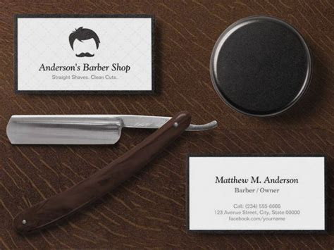 barber business cards templates free 101 best business cards images on invitation