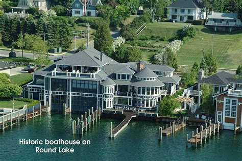 boat auctions mi michigan waterfront property in charlevoix petoskey