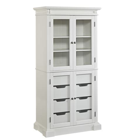 Free Standing Kitchen Pantry Furniture by Astonishing White Stand Alone Closet Roselawnlutheran