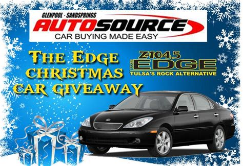 Christmas Car Giveaway - z104 5 the edge
