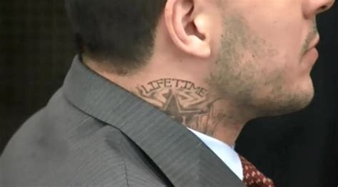 lifetime tattoo aaron hernandez shows up to court with new lifetime