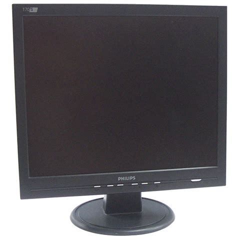 Monitor Lcd Philips 14 philips 170s6fb 00 17 inch lcd monitor black grade a ebay