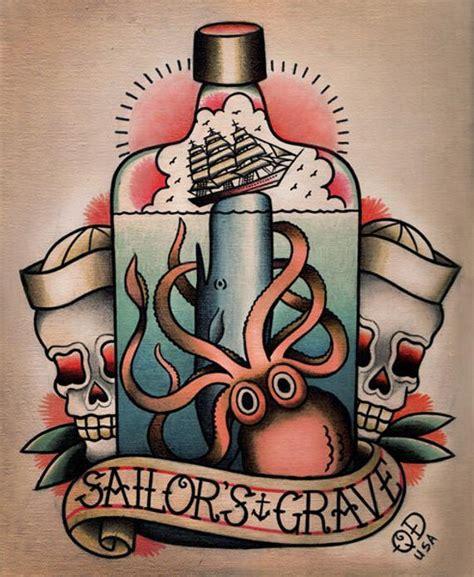sailors grave tattoo sailor s grave nautical flash