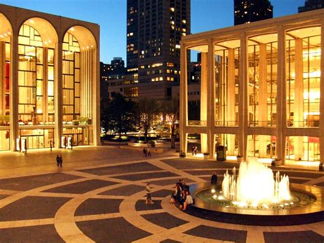 A Place New York City Opera Lincoln Center For The Performing Arts At Twilight Photograph
