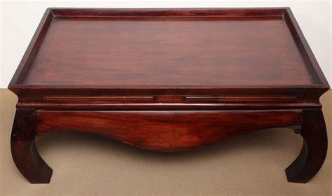 asian style coffee table with drawer at 1stdibs