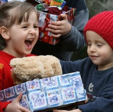 programs for the needy at christmas children presents