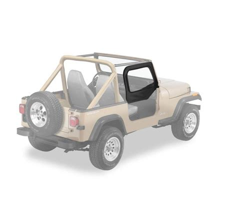 1998 Jeep Wrangler Soft Top Replacement Jeep 1998 Wrangler Fabric Door Skins Bestop