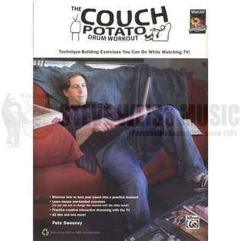 couch potato workout the couch potato drum workout by pete sweeney drum set