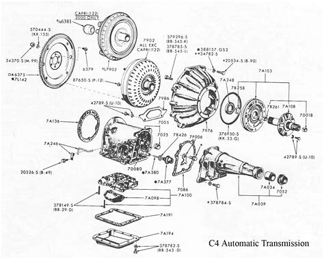 ford c4 transmission diagram ford c4 transmission diagram 28 images world wide
