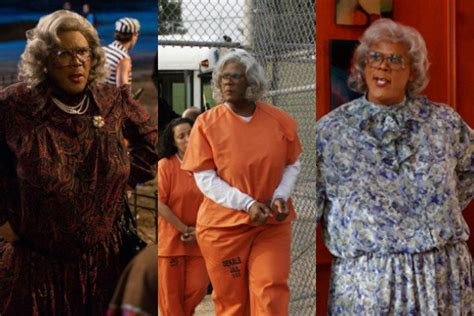 what is on at the movies tyler perrys boo 2 a madea halloween by tyler perry tyler perry seems to think lionsgate left madea money on the table