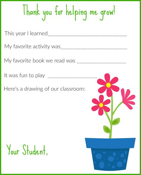 how to write a thank you letter to a teacher from a parent