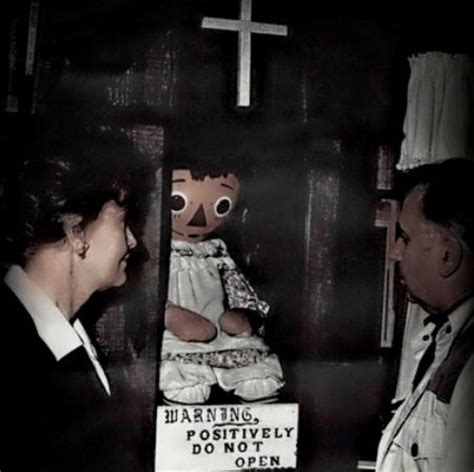 haunted doll named annabelle 10 most haunted objects of all time neatorama
