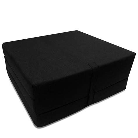 matelas mousse la boutique en ligne matelas en mousse pliable noir 190 x