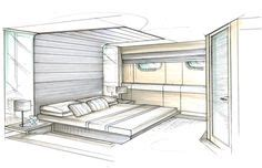 interior design bedroom sketches 1000 images about myars on pinterest interior sketch