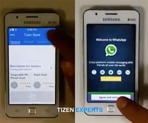 samsung z1 launching with android apps thanks to