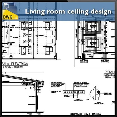 living room layout dwg living room ceiling design and detail dwg files cad