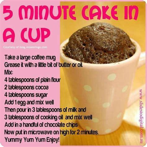 microwave cupcake recipe dishmaps