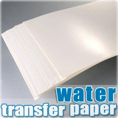 Folie Drucken Mit Tintenstrahldrucker by Tph Papier F 252 R Wassertransferdruck Abziehbilder A4 F 252 R