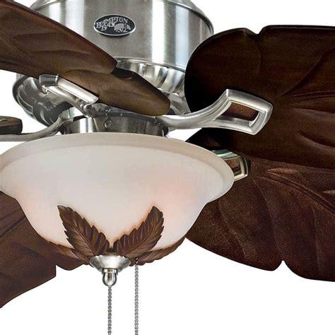 hton bay antigua ceiling fan hton bay 26616 antigua 56 in ceiling fan brushed