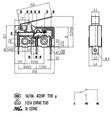 mini electric push button micro switch  micro switch