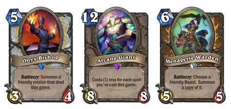 Hearthstone Gift Card - the 5 one night in karazhan cards that completely change hearthstone play