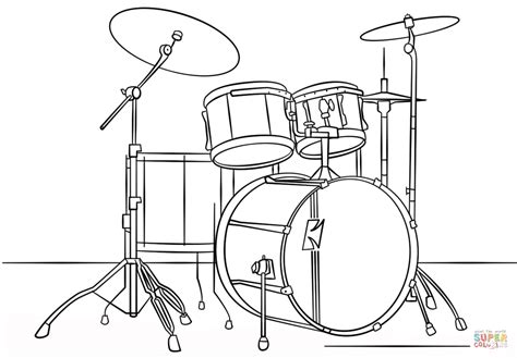 percussion family coloring page coloring coloring pages