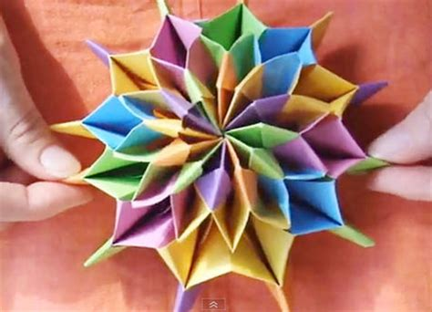 How To Make A Firework Out Of Paper - celebrate new year s with origami fireworks craftfoxes