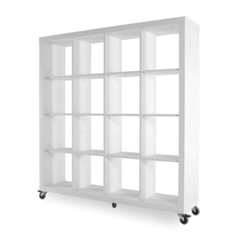 Roulettes Pour Table Basse 2152 by Biblioth 232 Que Sur Roulettes Rolly Temahome 4x4 Blanc