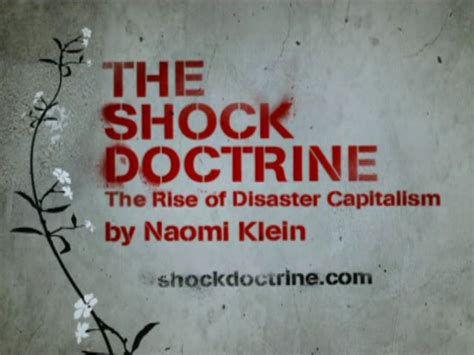 libro the shock doctrine the the shock doctrine on no fat clips