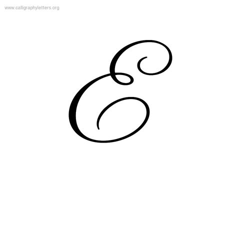 letter e tattoo pretty cursive letter e www pixshark images