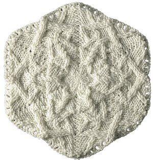 snowflake knitting pattern free gorgeous knit snowflake allfreeknitting com