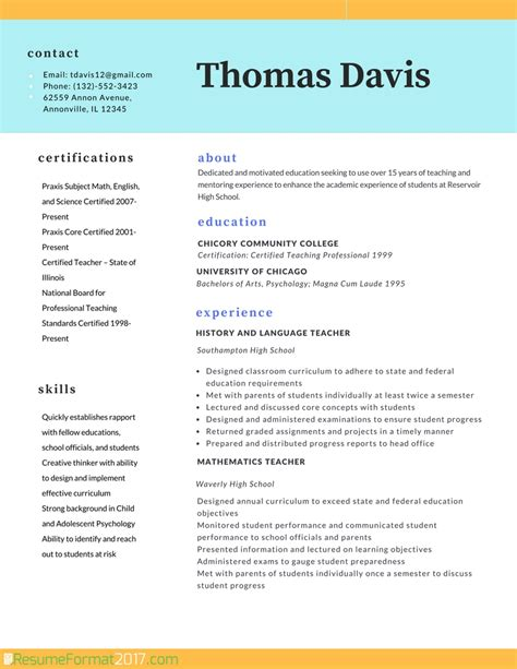 Professional Resume Templates by Professional Resume Template 2017 Resume Builder