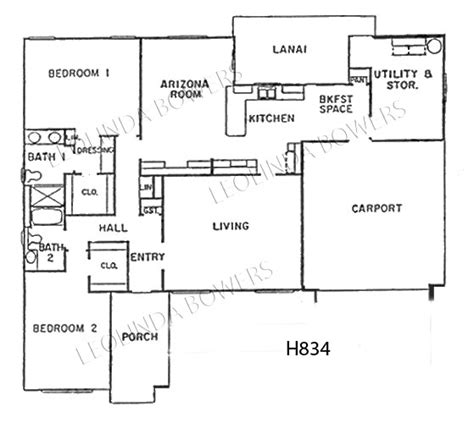 sun city west floor plans sun city west hopi floor plan