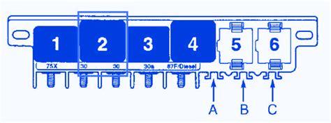 audi  mini  fuse boxblock circuit breaker diagram