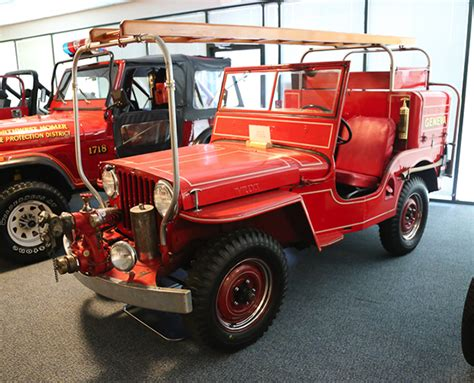jeep fire truck 1947 willys cj 2a fire truck jeep collection